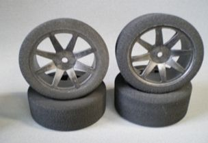 Enneti 1:10 On-road -CARBON- 30mm rear tires