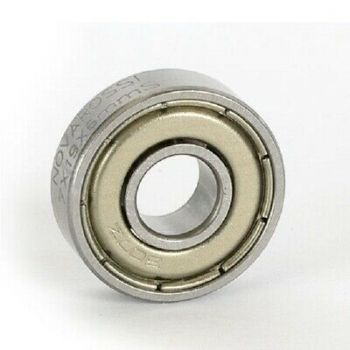 Front ball bearing 7x19x6mm 7 steel balls steel screen