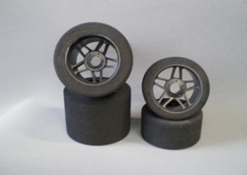 Enneti 1:8 On-road -CARBON- Rear tires