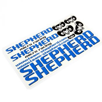 Decals Shepherd blue from Shepherd Micro Racing