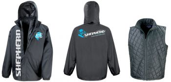 multi-purpose Shepherd 3-in-1 team jacket