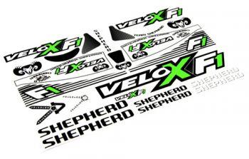 Decals Velox F1 from Shepherd Micro Racing
