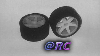 Enneti 1:12 -CARBON- front tires-25 Shore