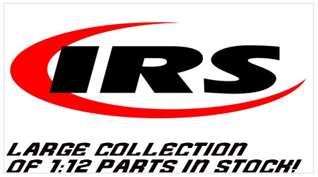 World RC has a large collection of IRS parts in stock!
